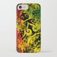 rasta iPhone & iPod Cases featuring Rasta Honu by Lonica Photography & Poly Designs