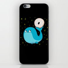 Pluto's Whale and Donut iPhone & iPod Skin