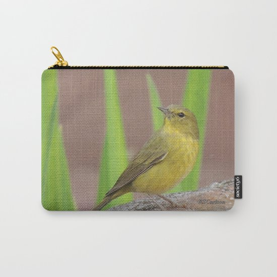 Yellow Warbler at the Fountain Carry-All Pouch