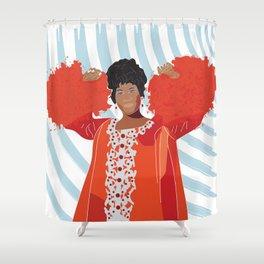 ARETHA FRANKLIN Shower Curtain