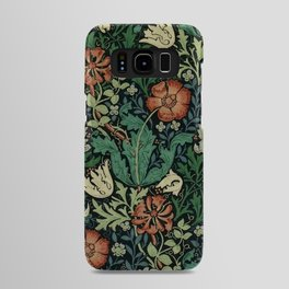 William Morris Compton Floral Art Nouveau Pattern Android Case