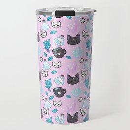 Herb Witch // Pink Travel Mug