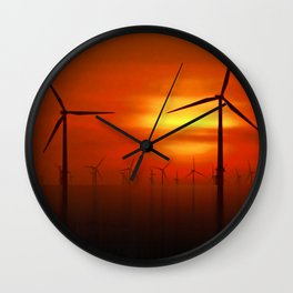Clean Power (Digital Art) Wall Clock