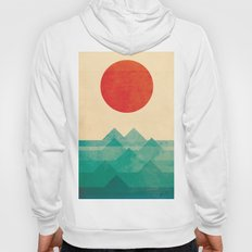 The ocean, the sea, the wave Hoody