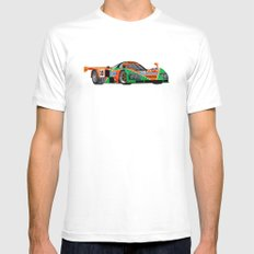 787B Mens Fitted Tee MEDIUM White