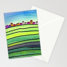 Palouse farm town Stationery Cards