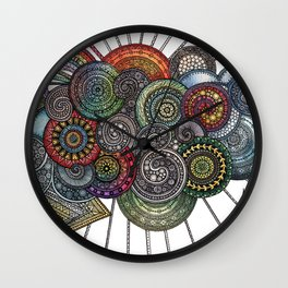 'Weather and Earth' Wall Clock