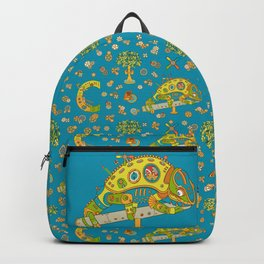 Chameleon, cool wall art for kids and adults alike Backpack