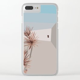 Postcard from Sicily°° Clear iPhone Case