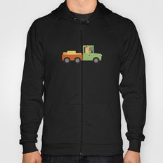 Horse on Truck Hoody