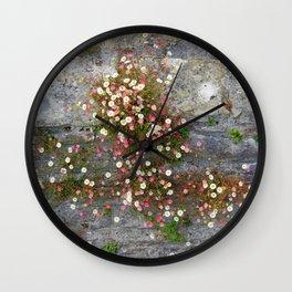 Daisies Wall Wall Clock