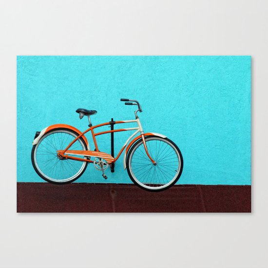 Oak Cliff Bicycle Canvas Print