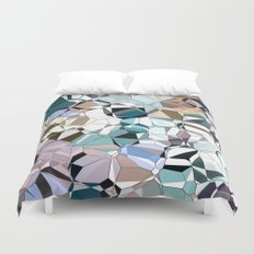 Abstract Geometric Shapes Duvet Cover