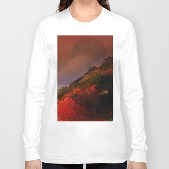 The hill of three pines Long Sleeve T-shirt