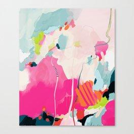 pink sky II Canvas Print