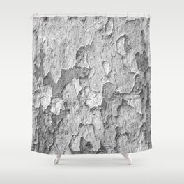Nature Texture Print Shower Curtain