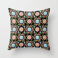 Millefiori Pinwheel Pattern Throw Pillow