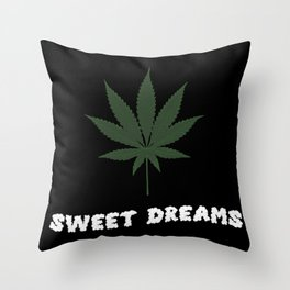 Things Stoners Love Throw Pillow