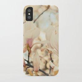 Magnolia and Cream iPhone Case