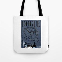 Dogue MAGAZINE - Book Smart Edt Blue Tote Bag