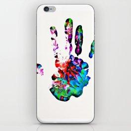 Hippie Hand iPhone Skin