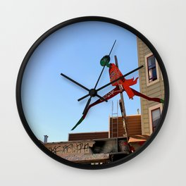 A Flying Leap Wall Clock