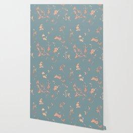 Copper Splatter 087 Wallpaper
