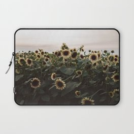 In The Sunflower Field Laptop Sleeve