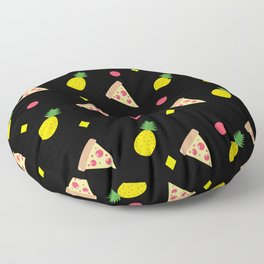 Pizza Pineapple Party Floor Pillow