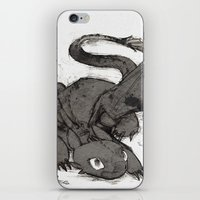 toothless iPhone & iPod Skins featuring Toothless by SpaceMonolith