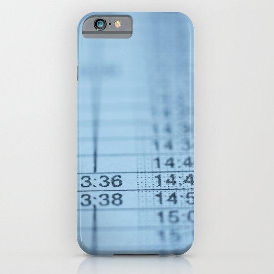 Schedule iPhone & iPod Case