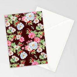Vintage Floral Pattern No. 5 Stationery Cards