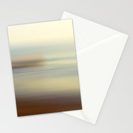 Ocean wind. Abstract sea blurred design Stationery Cards