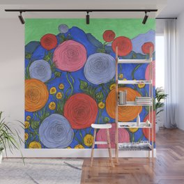 Colors in the Blue Ridge Mountains Wall Mural