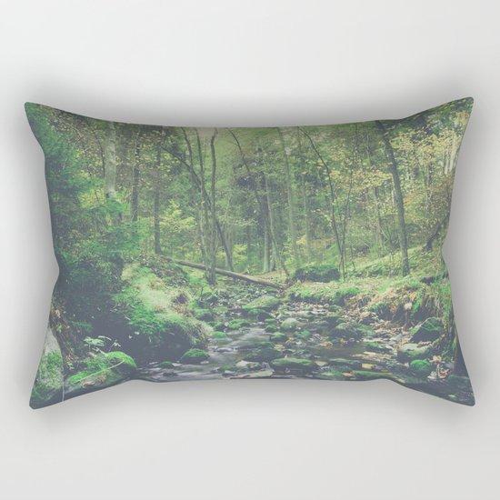 Mountain of solitude Rectangular Pillow