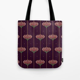 Wallpaper Floral Pattern In Style OF William Morris Tote Bag