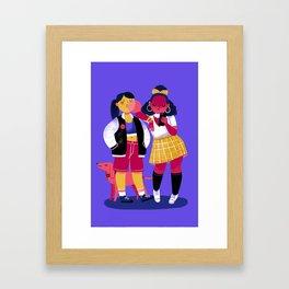 Grrls Framed Art Print
