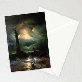 Ivan K  Aivazovsky — Neapolitan Lighthouse Stationery Cards