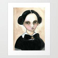 Miss Becky Art Print
