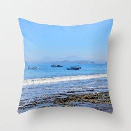 Matapalo Beach Throw Pillow