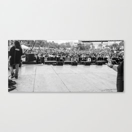 Crowd Shot from Backstage Canvas Print