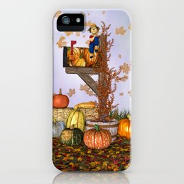Seasons Mailbox Autumn iPhone Case