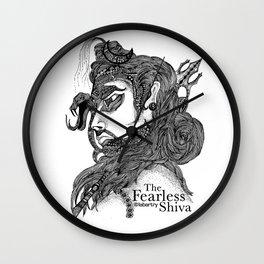The Fearless Shiva Wall Clock