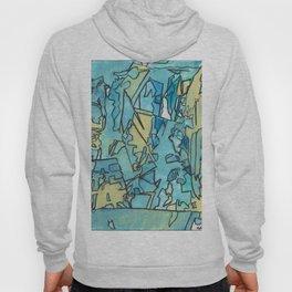 The Shoreline Ocean Abstract Fine Art Hoody