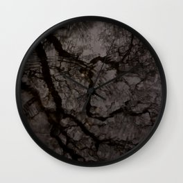Gloom reflected. Wall Clock