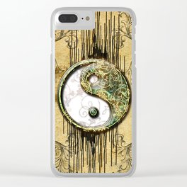Ying and yang  Clear iPhone Case