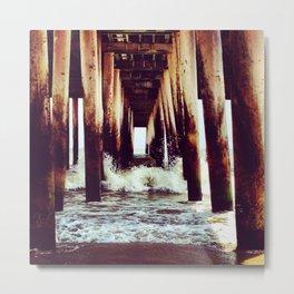 Under The Boardwalk Metal Print