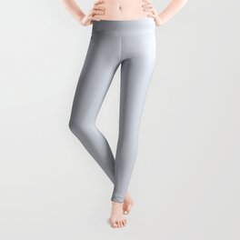 In The Clouds Pale Pastel Blue Solid Color Pairs To Sherwin Williams 2021 Wishful Blue SW 6813 Leggings