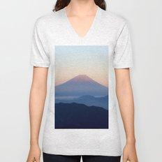Mt. Fuji, Japan Unisex V-Neck