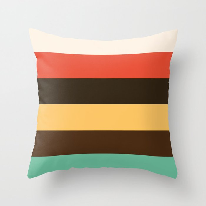Color Series 003 Throw Pillow